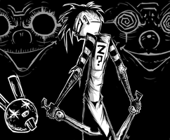 Johnny the Homicidal Maniac by Corpse-boy