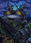 Shadow of TOTORO by Merinid-DE