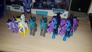 My Little Pony ''lot of figures'' by cedricc666
