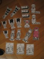 SKIZ all stickers by abys-kis