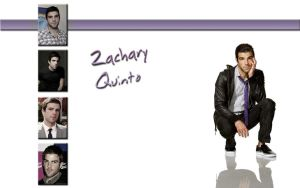 Zachary Quinto Wallpaper by Jackpatd