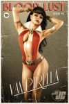Vampirella retro pin-up by Jeffach