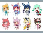 -22- Set Price Adoptables (OPEN!) by MayuAdopts