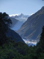 Fox Glacier HDR by Deceptico