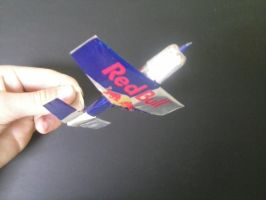 Extra 330S made from Red Bull cans by Rooivalk1