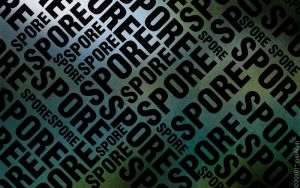 spore typograph by devils666