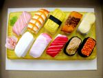 Sushi Cake by KralleCakes