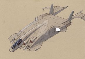 MDS-20 Apache Medium Dropship by Jepray