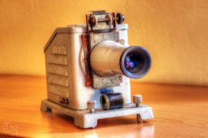 Old Projector by ToRom