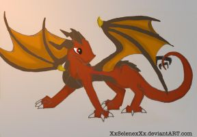 Ash the Dragon .:Prize:. by XxSelenexXx