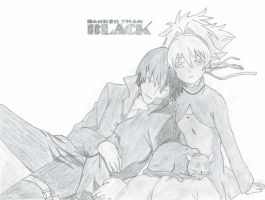 Darker than Black: Hei and Yin by Excalibur49