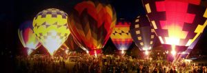 All a Glow Balloons by ArtisinmyHeart