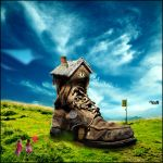 House on old shoe by NeuS2010