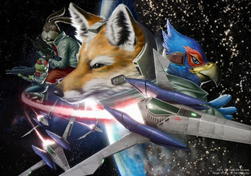 Star Fox by Zombie-Graves