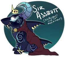 ...::Sir Assbutt - POSSIBLY FOR SALE ::... by KingBrovu