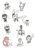 Battle Bunnies by Call-Me-Jack