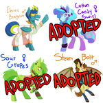 Tox Adopts: Pony Adoptables 2 [1/4 OPEN] by Toxal