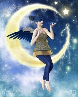 Twinkles of the Night Sky by RavenMoonDesigns