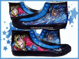 Howl's Moving Castle High Tops by IcyBootWoot