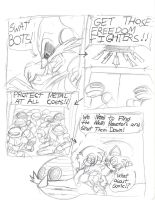 Sonic Chaos Part One/Phase One/Page Five by AshuraTheHedgehog199