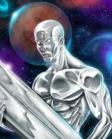 Silver Surfer by VinRoc