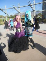 Default Miku-Sandplay Luka by Dusha-Soul