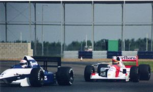 A.de Cesaris |M.Blundell (Great Britain Test 1992) by F1-history