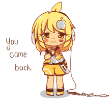 You came back.. by threewiishes