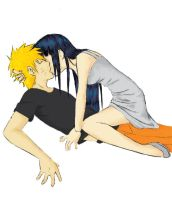 + Naruto and Hinata + by BlackKetchup