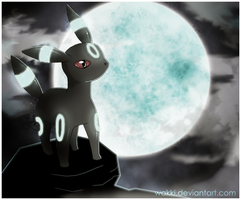 Artemisa the Umbreon by Wakki