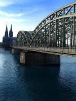 Cologne Cathedral II by metzgorein