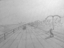 Perspectiva a lapiz by Falcon-Drawing