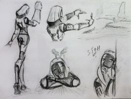 sketches Tali (97) by spaceMAXmarine