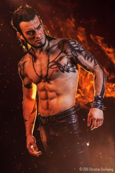 Gladiolus - Final Fantasy XV - HELLFIRE  #3 by LeonChiroCosplayArt