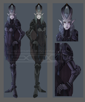 Auction #34 Demon Knight [CLOSED] by Aivomata