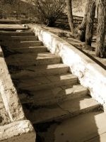 Forgotten Stairway by RMS-OLYMPIC