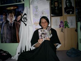 Me as Captain Unohana 2 by dragonloveruk