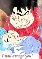 Gohan and Trunks from DBZ Trunks Special by KitsMitsu