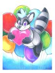 Balloon Raccoon by Tigsie