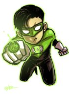 Little : Green lantern by ChickenzPunk