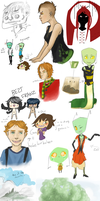 SECOOONDDD sketch dump by Nalcania2