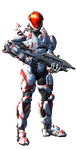 my spartan in halo 4 by Wolf-S305