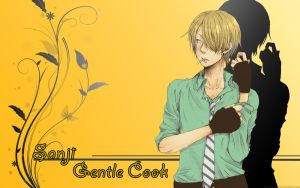 Sanji wallpaper 02 by Moriano