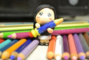 Me and the Pencil by kgpanelo