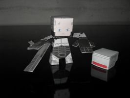 Robocop papercraft by MichelCFK