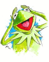 Kermit by MikimusPrime