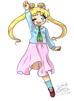 Usagi Commission by jojo263