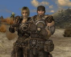 Marcus Fenix and Anya Stroud Aprooves xD by lsquall