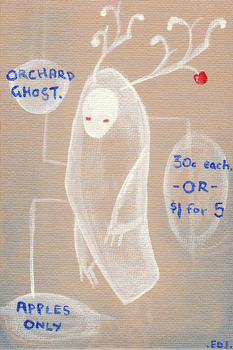 orchard ghost by SuspiciousHat