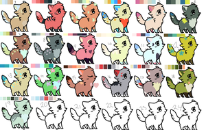 Big Batch Of Adopts by PixelKits